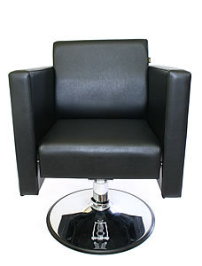 Direct Salon Supplies Boxta Hydraulic Styling Chair In Black