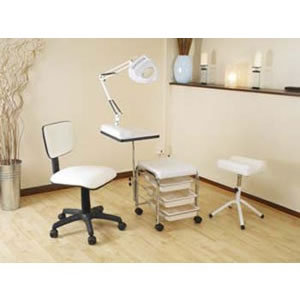 Direct salon supplies mobile nail kit b for Nail salon furniture suppliers