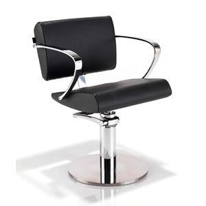 REM Aero Hydraulic Styling Chair in Black (04127)