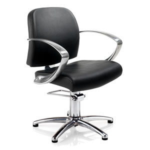 REM Evolution Hydraulic Chair In Black Upholstery