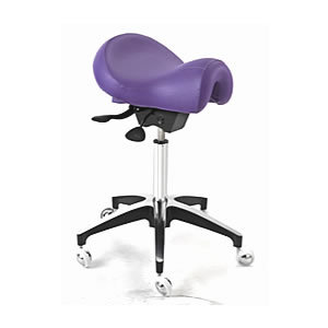 Wbx Ascot Saddle Stool In Purple