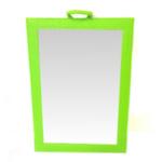 Diredt Salon Supplies Chic Salon Back Mirror in Lime