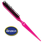 Denman Hot Pink Dress Out Hair Styling Brush