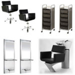 Direct Salon Supplies Milan Salon Furniture Package A