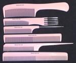 Head Jog Pink 6 Combs Set