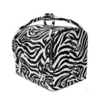 Hair Tools Zebra Beauty Case