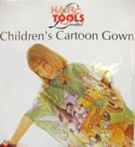 Hair Tools Cartoon Kiddies Gown