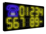 Direct Salon Supplies LED Static Telephone Sign