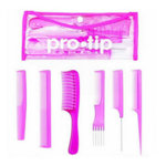 Pro Tip College Pink Comb Kit
