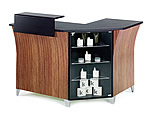 REM Sigma Corner Reception Desk With Retail Unit