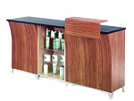 REM Sigma Reception Desk With Straight Retail Unit