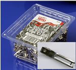 Hair Tools Double Prong Curl Clips Box of 72