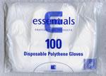 Disposable Polythene Gloves Pack 100