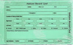 Direct Salon Supplies Nailcare Record Cards Pack 100