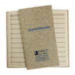 Direct Salon Supplies 3 Column Grey Appointment Book