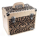 Direct Salon Supplies Leopard Effect Beauty Case