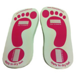 Tanfastic Card Sticky Feet Pk 100