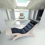 Vismara Sayuri Chaise Lounge