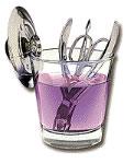 Mar-V-Cide Manicurist Sanitizing Jar No. 11