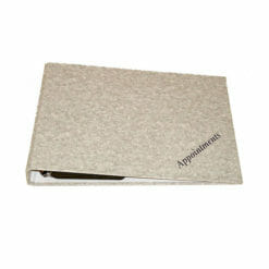 Appoinment Binder for 9 Column Loose Pages
