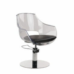 Ayala Ghost Hydraulic Styling Chairs In Cat W Upholstery