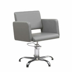 Ayala Lea Hydraulic Styling Chair In Cat W Upholstery