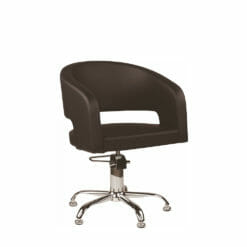 Ayala Zoe Hydraulic Styling Chair In Cat P Upholstery
