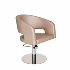Ayala Zoe Hydraulic Styling Chair In Cat W Upholstery