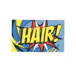 Direct Salon Supplies Hair Pop Art Appointment Cards